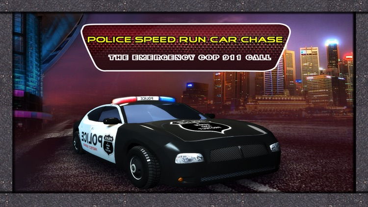 Police Speed Run Car Chase : The emergency Cop 911 Call