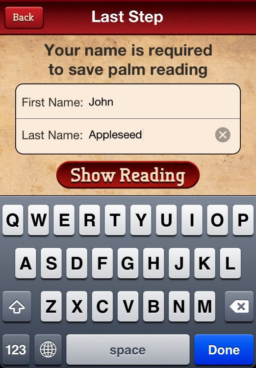 Palm Reading Booth Free - Just like Horoscopes and Tarot Cards for your hand!