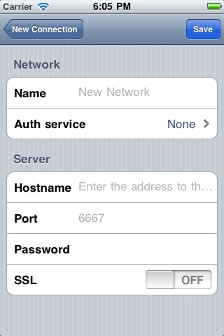 Linkinus for iPhone - IRC Client screenshot-4