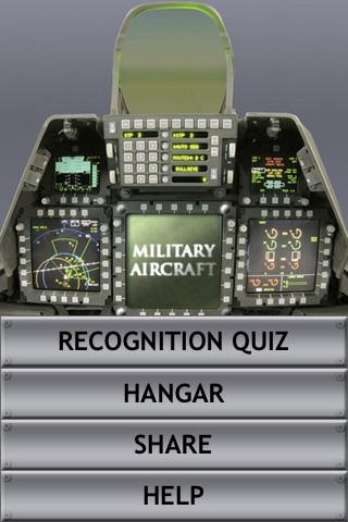 M.A.R.Q. - Military Aircraft Recognition Quiz screenshot-0