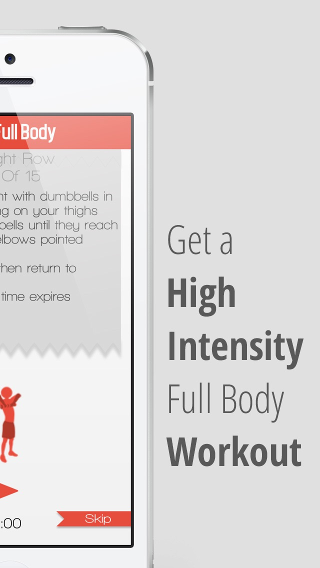 xFit Full Body – Fat Burning Workout and Muscle Building Exercise Routine screenshot one