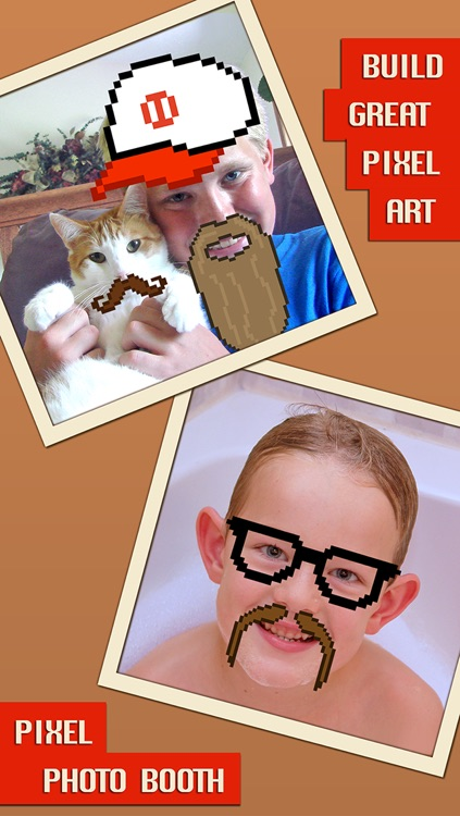 Pixel Photo Booth - Funny Picture Editing screenshot-3