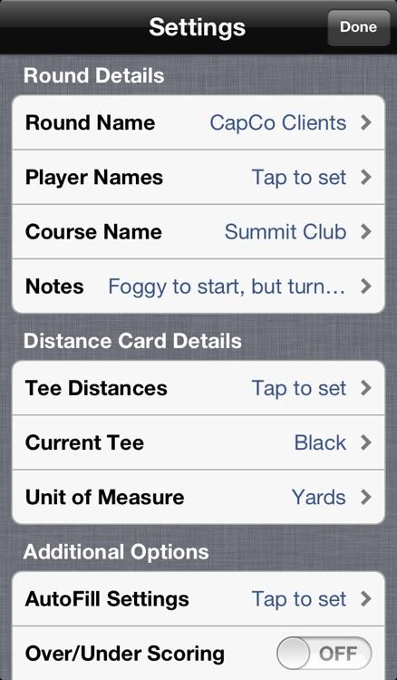 Birdies: Golf Scorecard screenshot-4