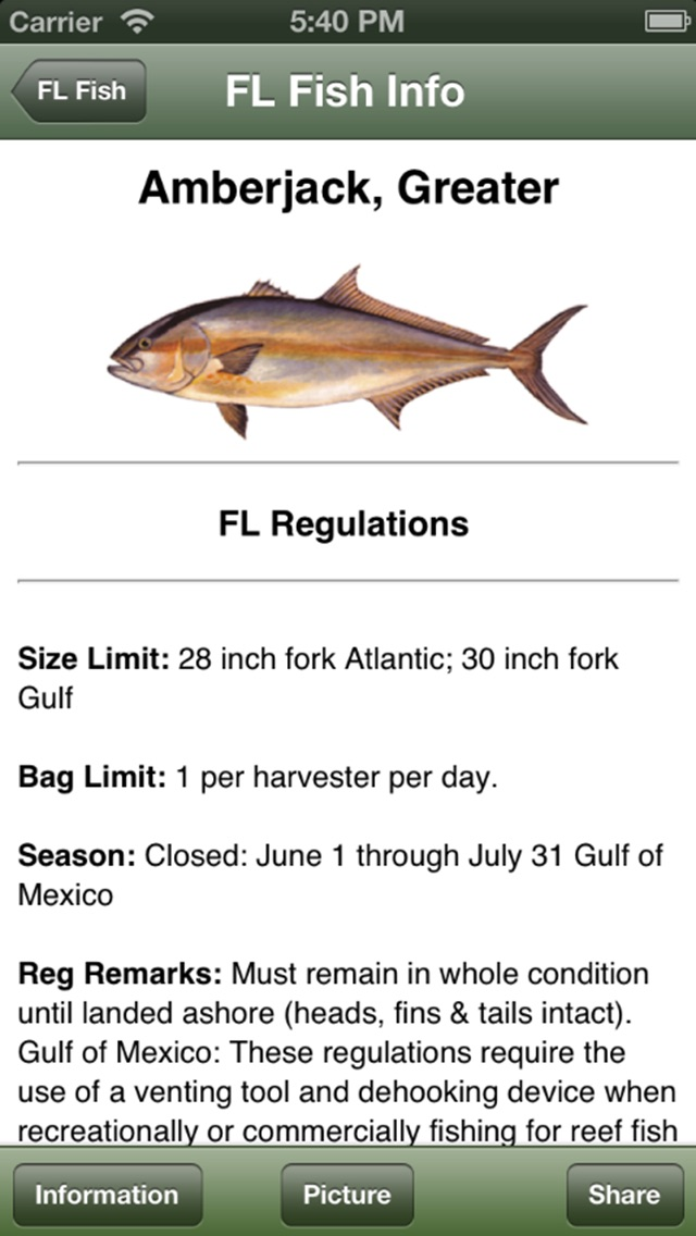 Gulf Saltwater Fishing Companion review screenshots