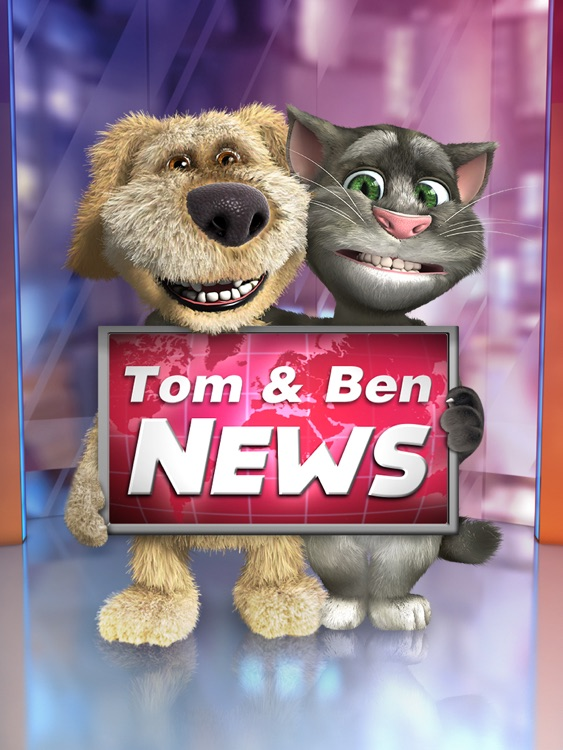 Talking Tom News for iPad screenshot-0