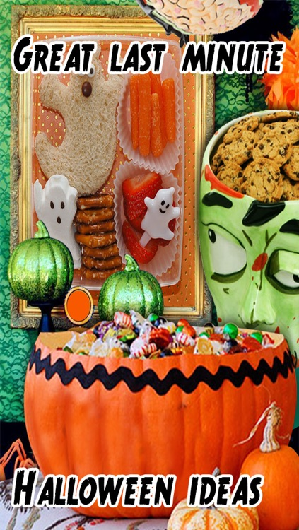 Halloween Decorating Ideas for iPhone5/iPhone4S/iPad