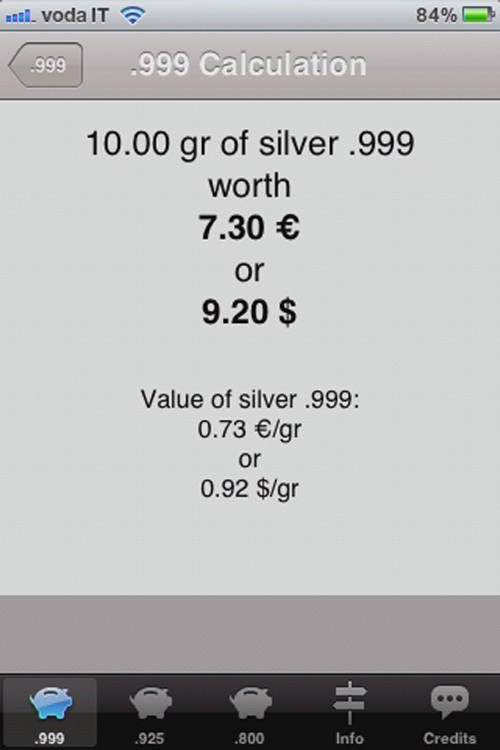 Silver Price Calculator Live