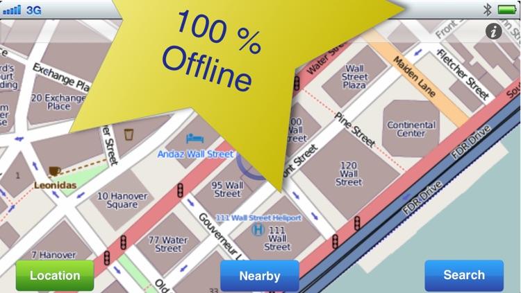New York City No.1 Offline Map