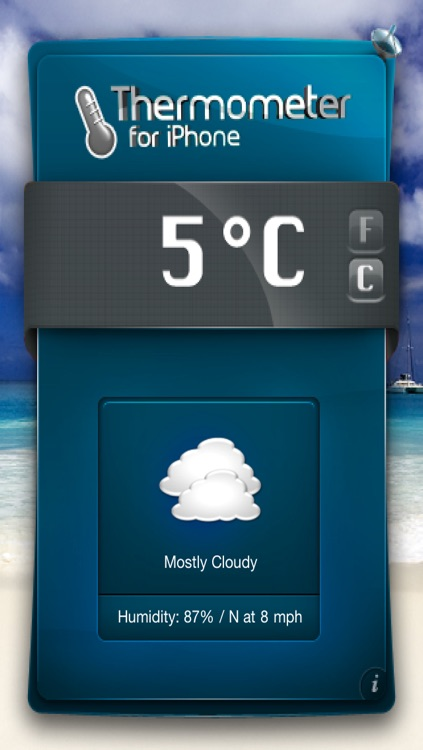 Thermometer/Weather for iPhone & iTouch screenshot-4