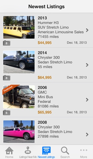 Limoforsale Limo Classifieds App Price Drops