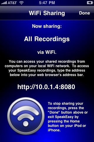 SpeakEasy Voice Recorder screenshot-4