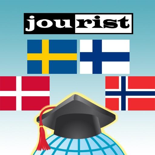 Trener Słownictwa Jourist. Europa Północna