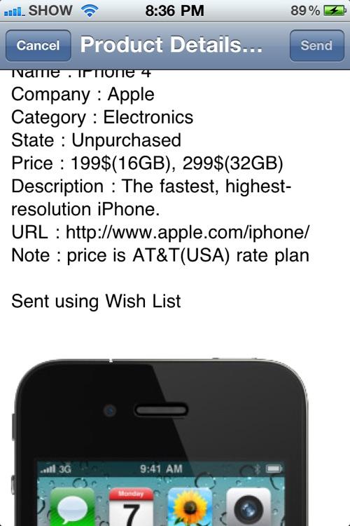Wish List - Manage Your Wish List screenshot-3