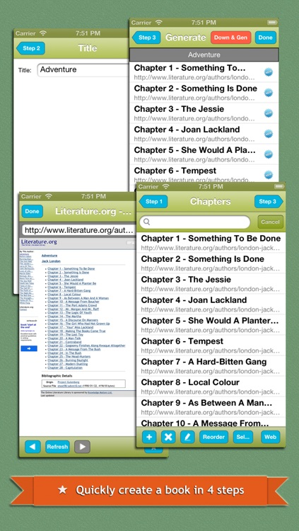 Web2Book - Pack Web Pages to iBooks epub Book