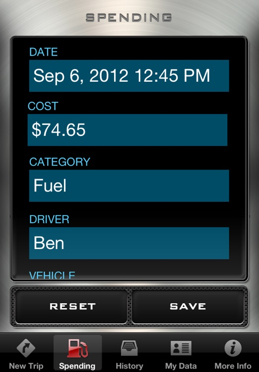 Mileage Log - Driving Distance Tracker screenshot-1