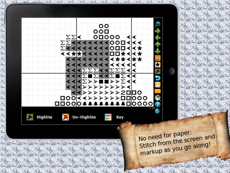 Cross Stitch 2 Go HD screenshot-4