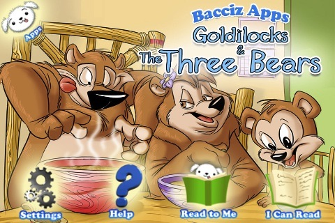 Goldilocks 3D and the Three Bears by Bacciz