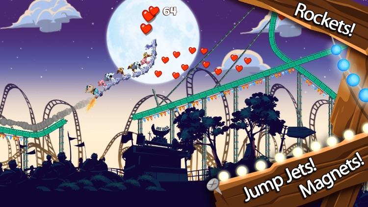 Nutty Fluffies Rollercoaster screenshot-3
