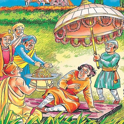Jataka Tales - True Friends -  Amar Chitra Katha Comics