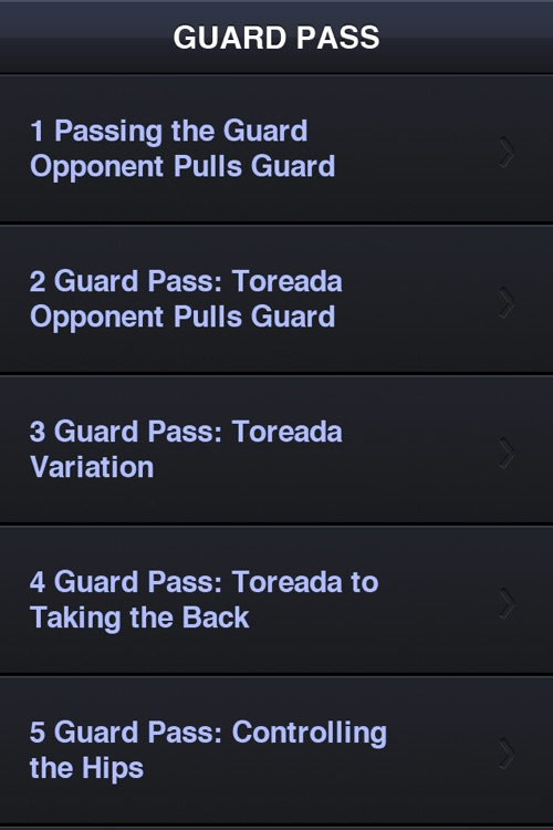 BJJ Guard Passing  - Andre Galvao Jiu Jitsu Vol 4 screenshot-1
