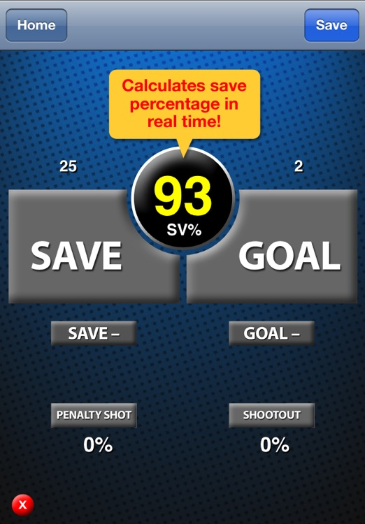 Goalie Stats screenshot-0
