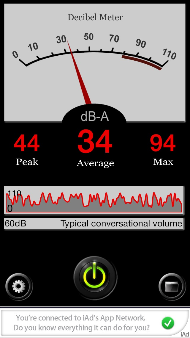 My Decibel Meter-Free Screenshot on iOS