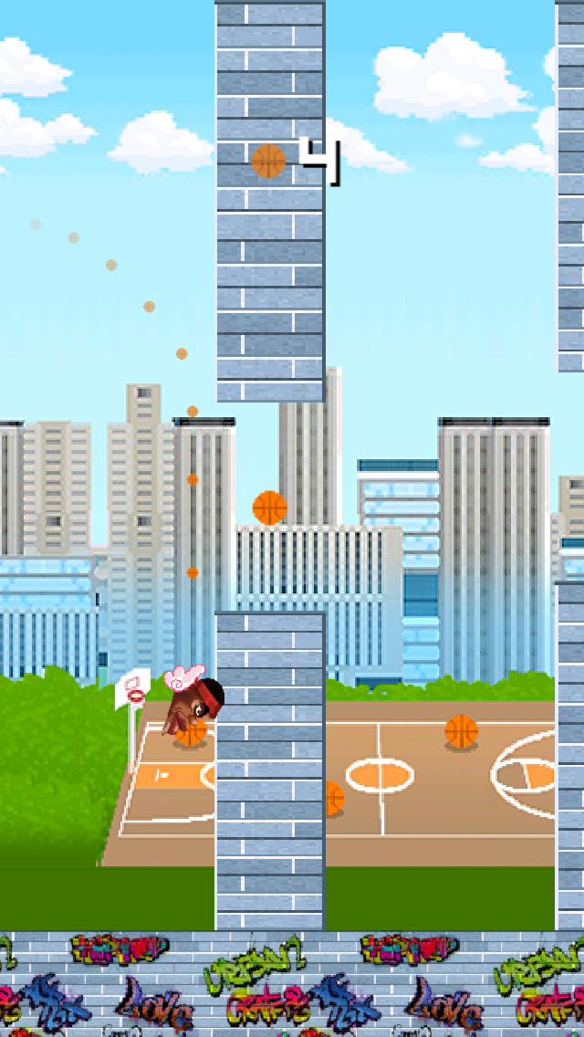 Floppy King James in: Basket-ball Chase and Impossible Hoop Bouncingのおすすめ画像2