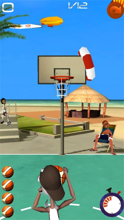 Basketball Shooting Stars screenshot-1