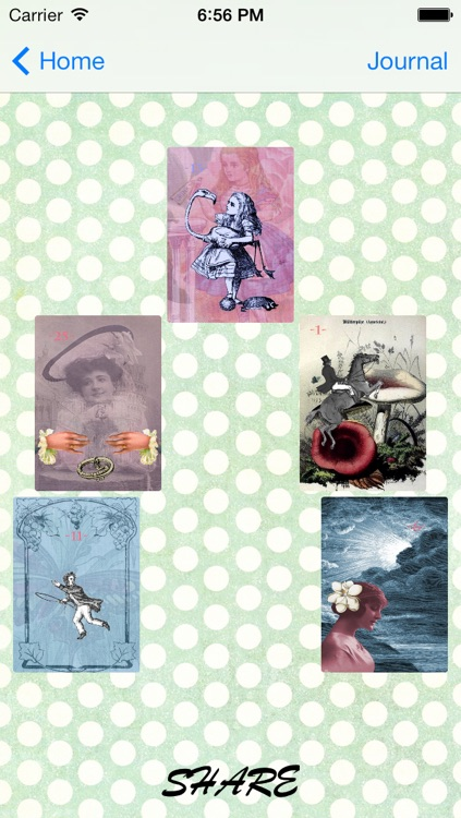 Alice in Wonderland Vintage Lenormand