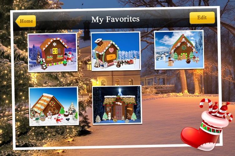 Gingerbread House Maker! screenshot-1