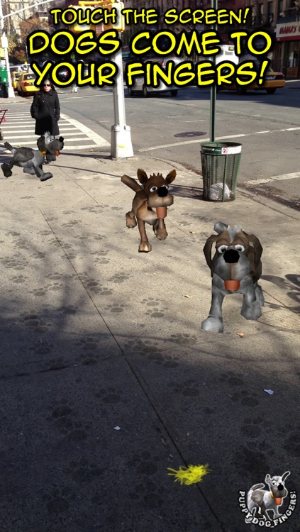 Puppy Dog Fingers! with Augmented Reality FREE