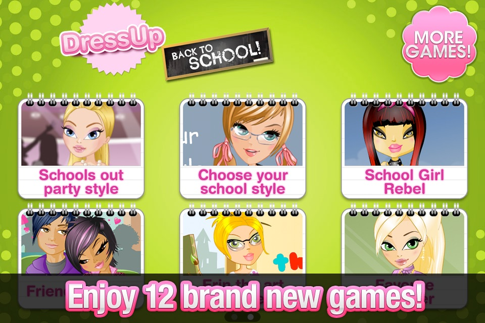 Dress Up! Back to School Cheat Codes