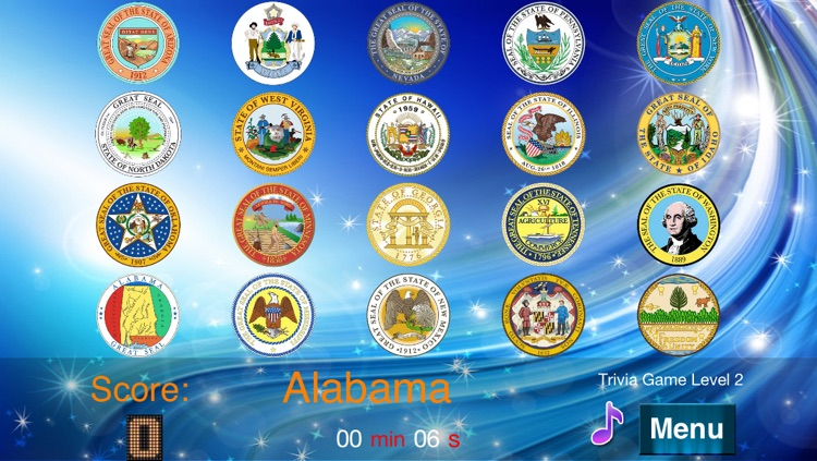 Master USA State Seals screenshot-3