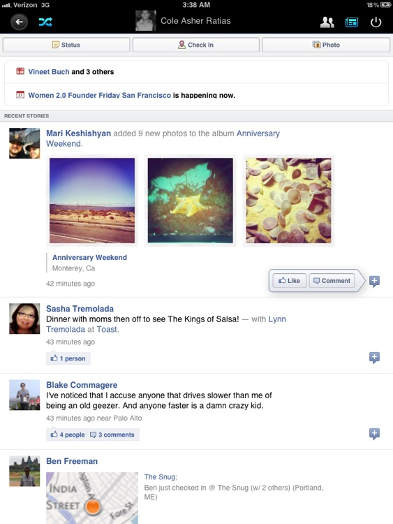 Flip for Facebook (formerly Timeline) screenshot-4