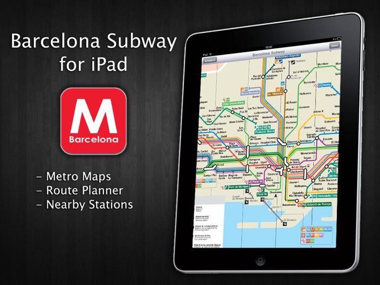 Barcelona Subway for iPad