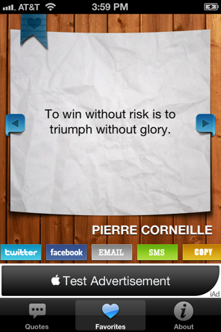 Quotes and Phrases screenshot three