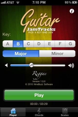 t l charger guitar jam tracks reggae pour iphone sur l 39 app store musique. Black Bedroom Furniture Sets. Home Design Ideas
