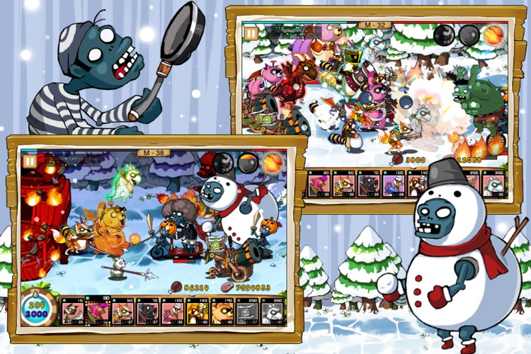9Heroes Defence : Zombie Invasion screenshot-3