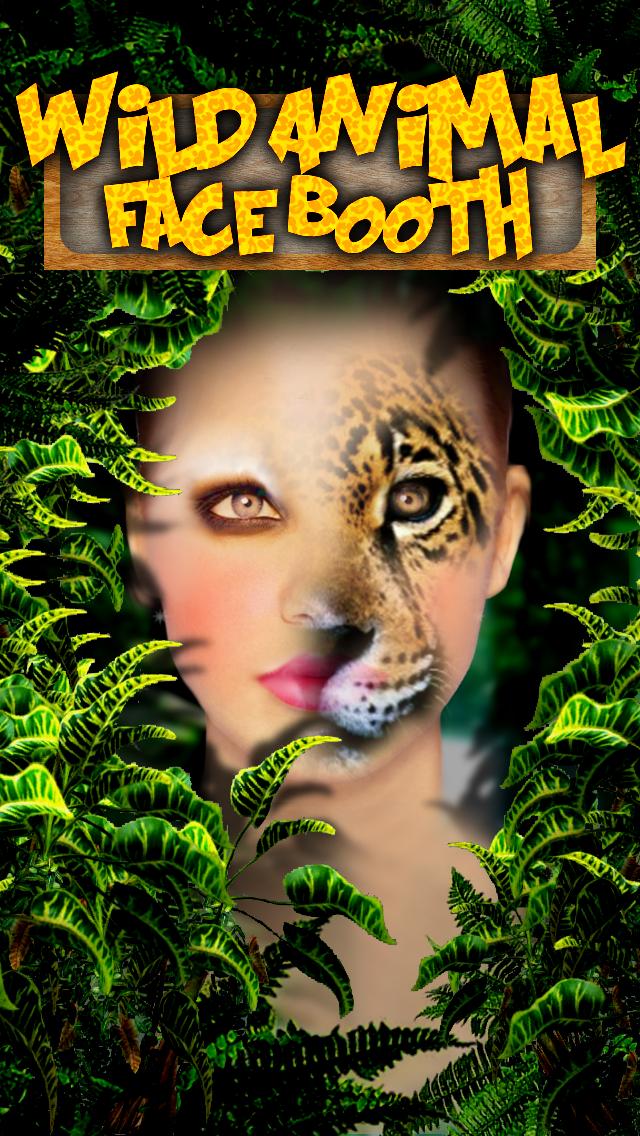 Wild Animal Face Booth - Virtual Photo Makeover