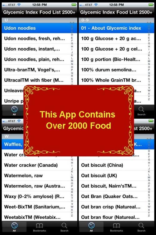 Glycemic Index Food List 2500+ screenshot-3