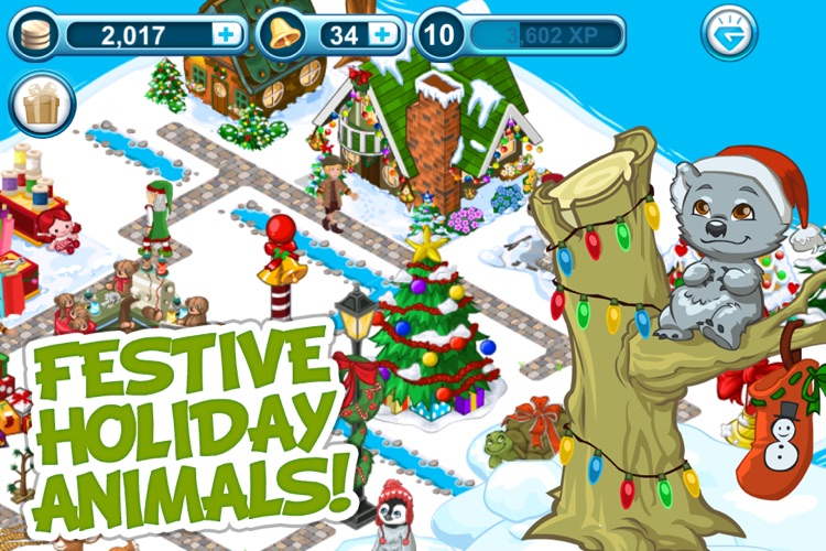 Tap Zoo: Santa's Quest