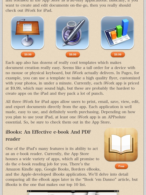 AppStart for iPad (2012 Edition) screenshot-4
