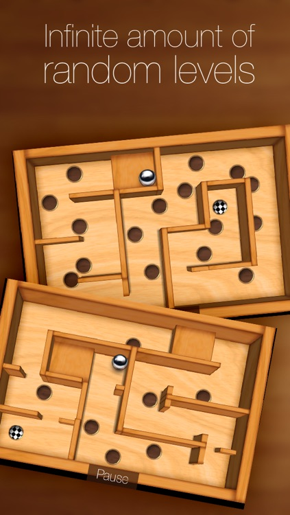 Wooden Labyrinth 3D screenshot-3