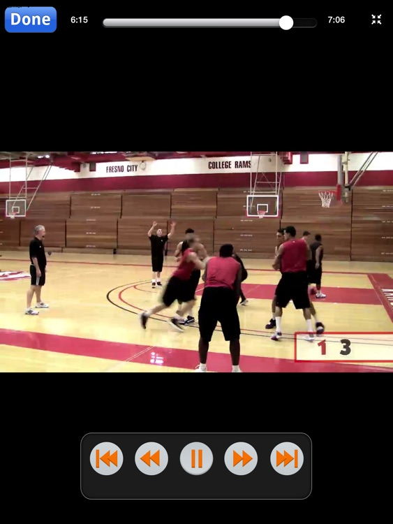 Teaching Toughness: Championship Ball Security & Rebounding Drills - With Coach Ed Madec - Full Court Basketball Training Instruction - XL screenshot-4