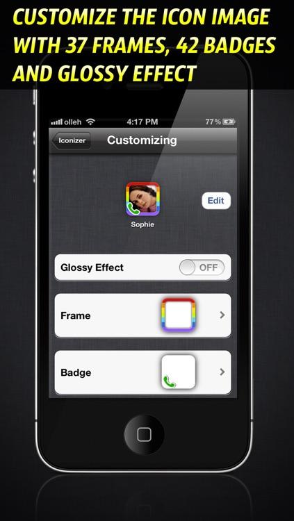 Iconizer - Home Screen Shortcut Icon Creator screenshot-3