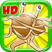 图片Monster肉丸拉什HD-水果短跑射击版免费! A Monster Meatballs Rush HD- Fruit Dash Shooter Edition FREE !