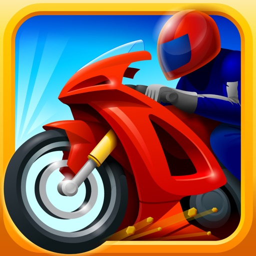 Awesome Racer Boy Police Chase Premium icon