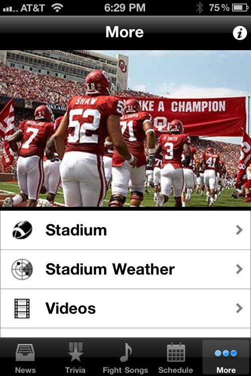 Oklahoma Sooners Football Trivia and More screenshot-3