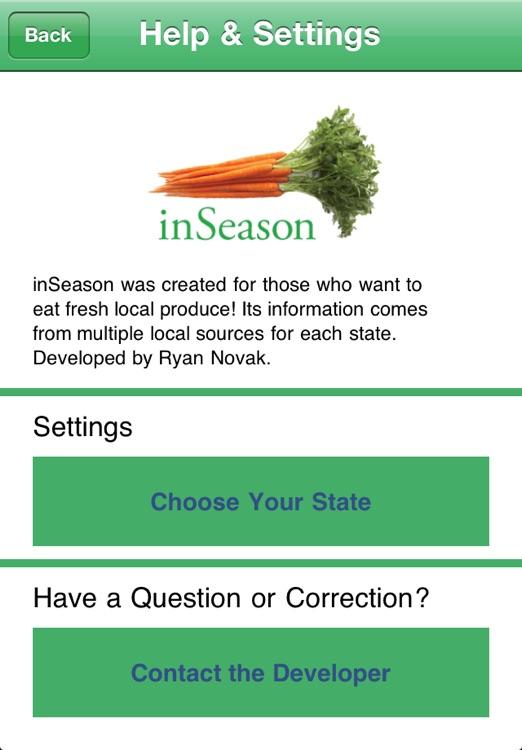 inSeason: Fresh Local Produce screenshot-3