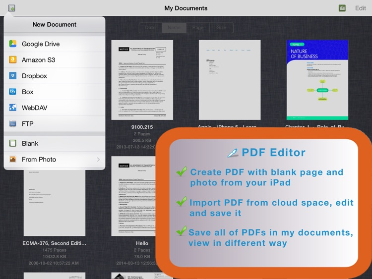 PDF Editor for iPad screenshot-3